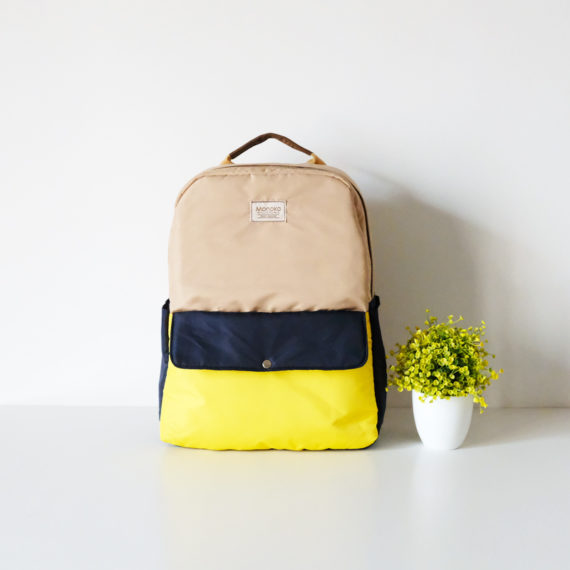 Shinjuku Khaki-Navy-Yellow-1